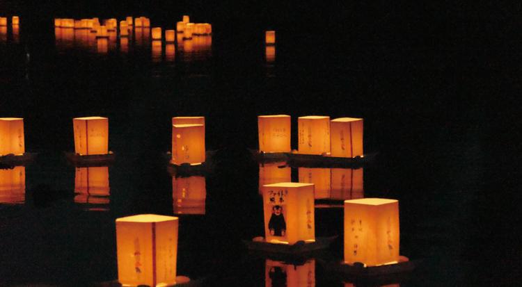 竹灯の夕べ2
